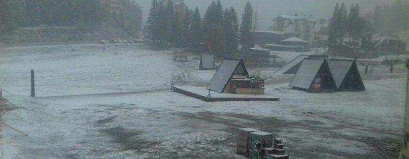 Snijeg Jahorina oktobar