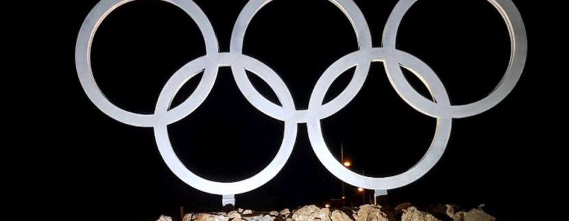 Olimpijski krugovi postavljeni na Jahorini